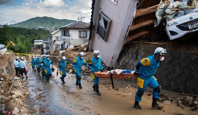 Japan death toll at 141