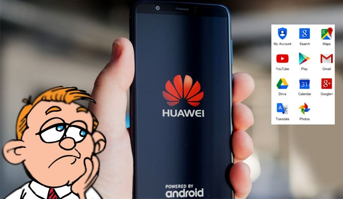 Google suspends Huawei from Android services