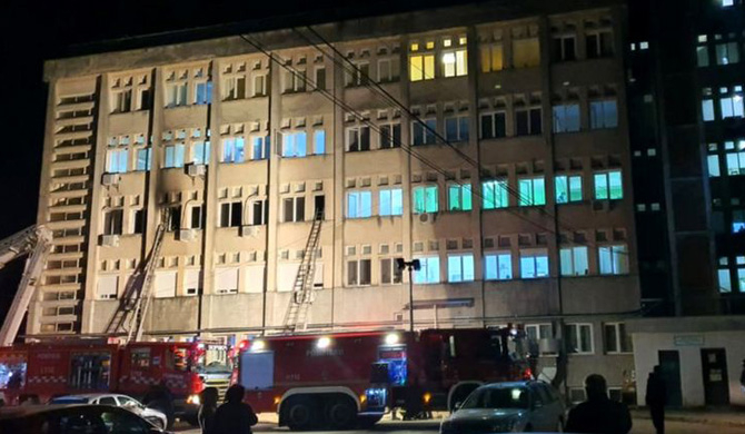 10 Covid-19 patients killed in hospital blaze in Romania
