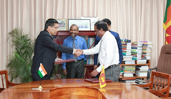 India funds post of Hindi Prof. at Kelaniya Uni.