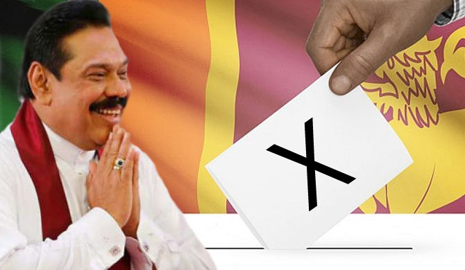 Prez polls delayed until May? : Is Mahinda the candidate?