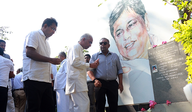 Lasantha Wickrematunge remembered (video)