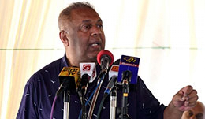 Rajapaksa cronies trying to hurl country again into 'Vipath Maga' - Mangala