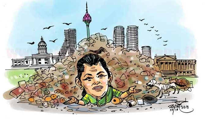 Hope for a solution today to the Colombo garbage disposal issue