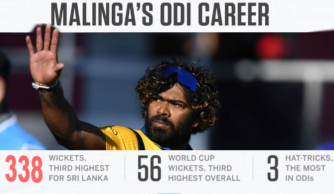 Malinga thanks Mahinda ; Bids adieu in disgruntlement with team & country!
