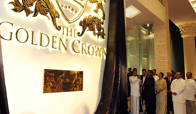 The Golden Crown Hotel inaugurated (Pics)