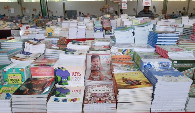World's biggest book sale in SL (Pics)