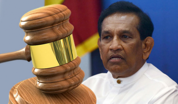Indictments served on Rajitha at High court