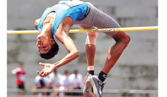 Ushan Thiwanka sets new local & S. Asian high jump record