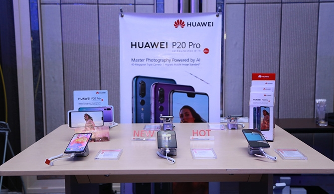Huawei P20 Pro launched in Sri Lanka (Pics)