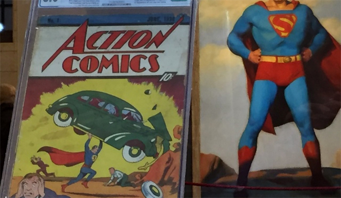 Rare Superman comic sells for record $3.25m