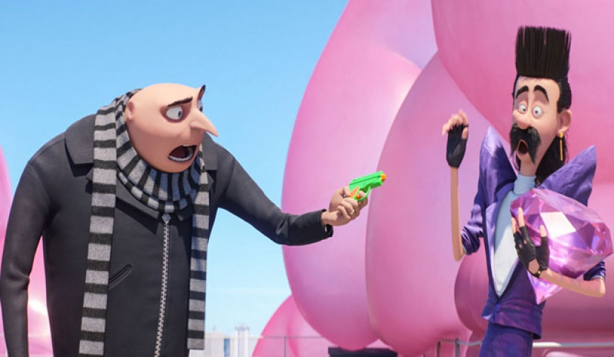 Gru returns with Despicable Me 3 (video)