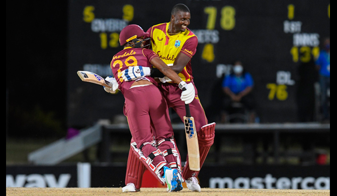 Series win for West Indies against Sri Lanka