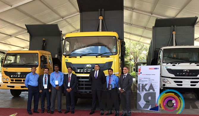 Eicher launches BS IV range in Sri Lanka (Pics)