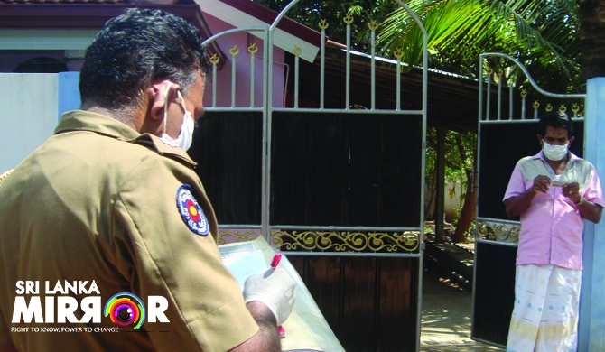 Houses in Puttalam quarantined (Pics)