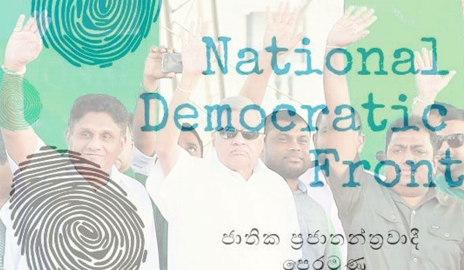 Birth of NDF under UNP leader; 48-member cabinet proposed