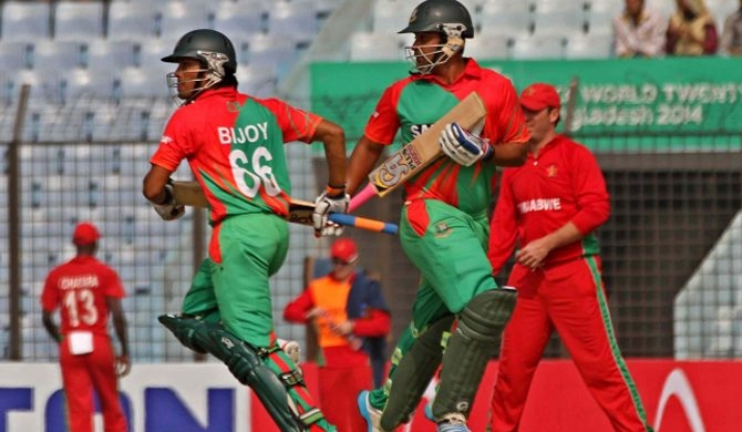 Bangladesh amasses ample runs