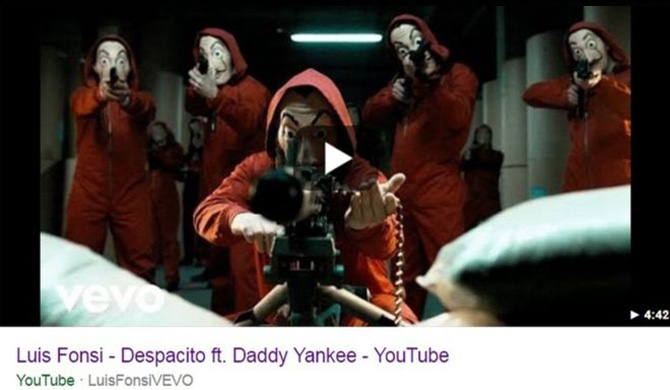 Despacito YouTube video hacked