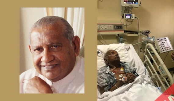Rathnasiri hospitalised