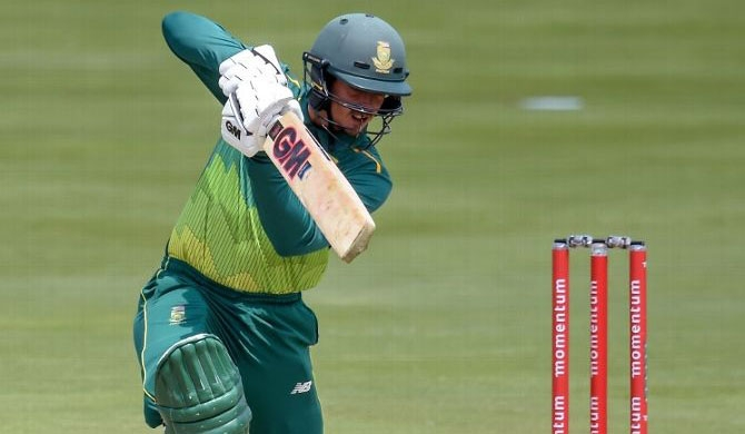 SA take series as De Kock sets up big D/L win