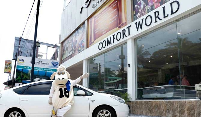 World class mattresses from Comfort World now in Kandy