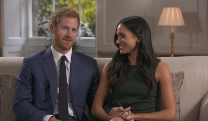 Harry - Meghan recall 'cozy night' of royal proposal (Video)