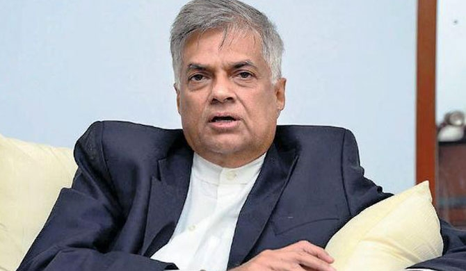 I am the Prime minister - Ranil