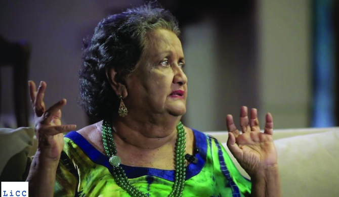 Sumitra Peries to receive award from Japan