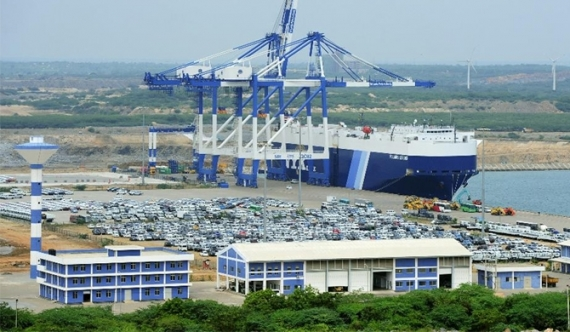 H'tota port: Arjuna happy with new draft, president undecided