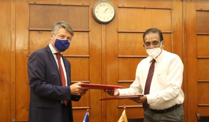 EU provides Rs. 8.26 b in grants to SL