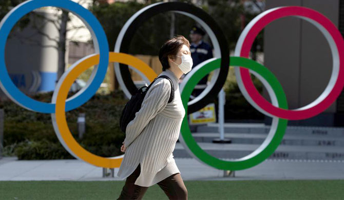 Poll finds 80% favor canceling or postponing Tokyo Olympics