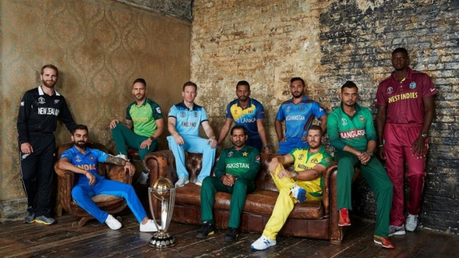 England is hosting the Cricket World Cup for the fourth time [ICC]