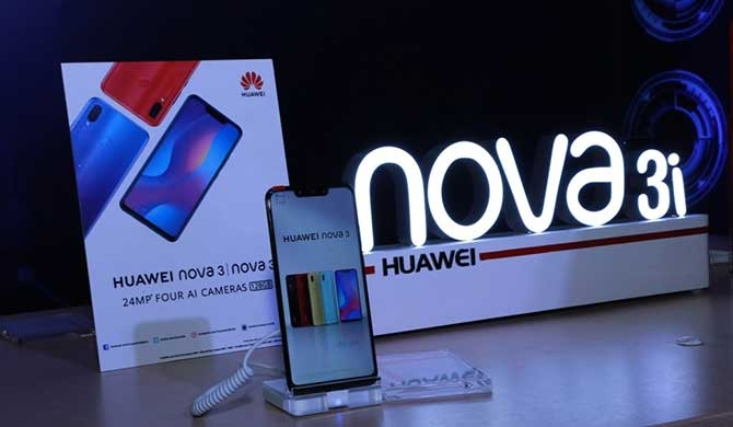 Huawei nova3 series launched (Pics)