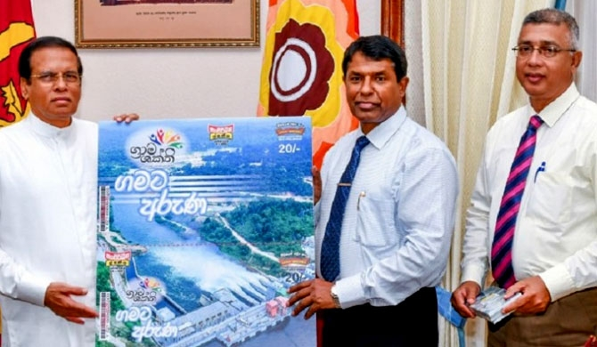 Grama Shakthi Instant lottery presented to President