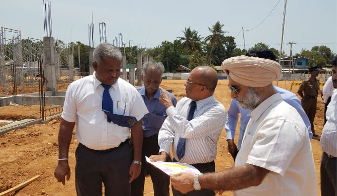 Indian High Commissioner visits National Trilingual school in Polonnaruwa