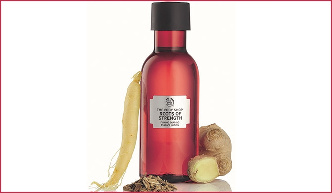 The Body Shop introduces 'Roots of Strength' for younger skin