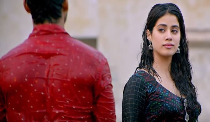 Dhadak marks Janhvi's first leading role (Picture: YouTube)