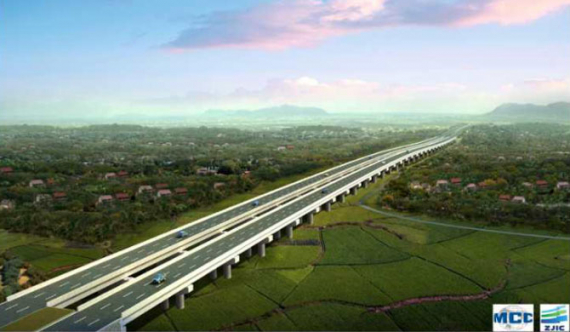 Construction of Central Expressway Section 1 commences
