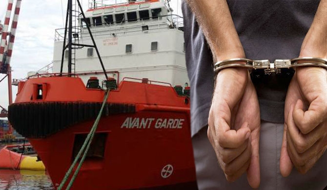 Avant Garde maritime security head arrested