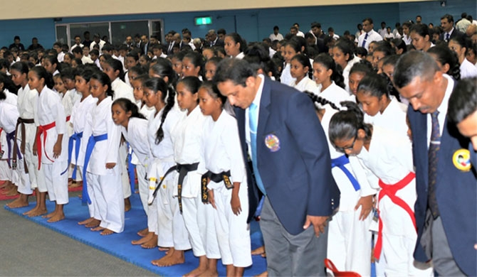 Ambassador of Japan Karate C'ships 2020 held