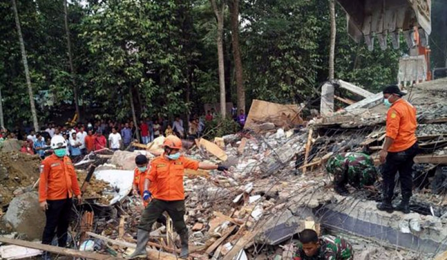 Indonesia quake kills 24