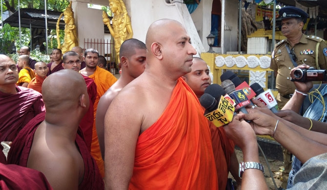 Ven. Gnanasara only responded to lawyers