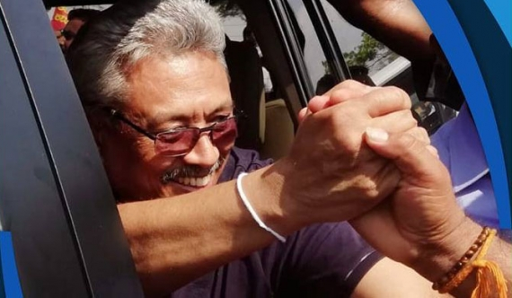 Person with red warrant tasked with Gota's international campaign?