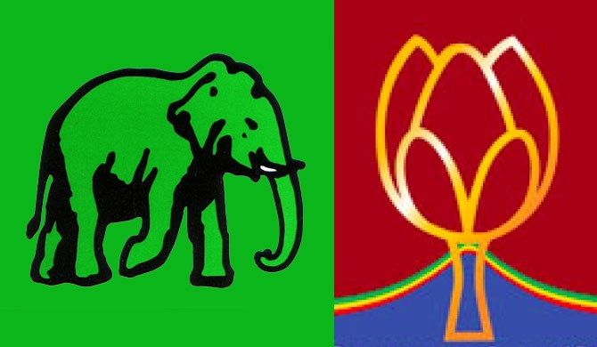 Both UNP, SLPP are in a dilemma