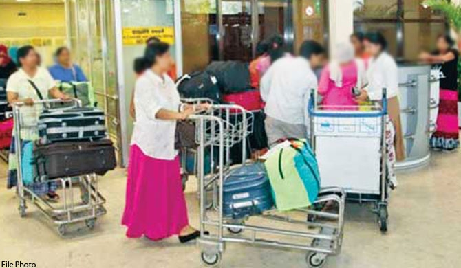 Sri Lankans restricted for leaving for foreign employment