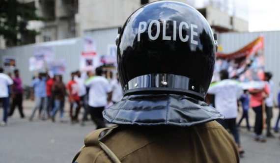 Issue over police uniforms!