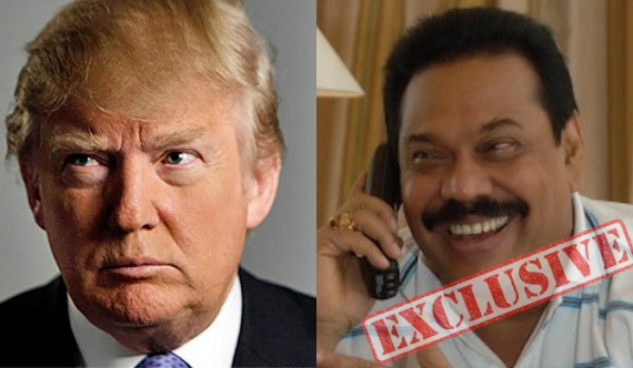 Trump refuses to talk to Mahinda!