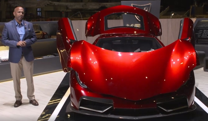 Vega unveiled in Geneva (Video)