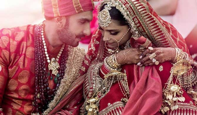 First pics of Deepika - Ranveer wedding revealed!