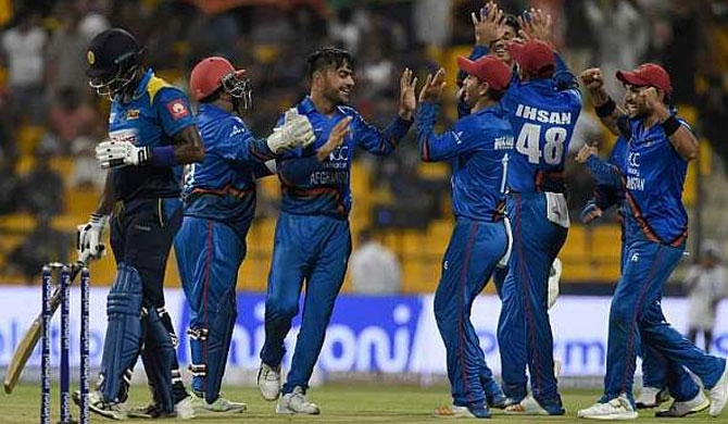 Afghanistan knocks Sri Lanka out of Asia Cup